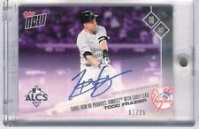 2017 Topps NOW #769C Todd Frazier Three-Run HR On-Card Autograph 1/25