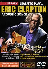 Lick Library LEARN TO PLAY ERIC CLAPTON ACOUSTIC SONGS Guitar Video DVD + CD