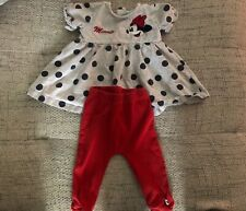 Disney Baby Outfit 6-9 Months