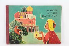 RARE Vintage Aladdin and His Magic Lamp POP UP ARTIA Prague Czech Hardcover Book