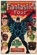 FANTASTIC FOUR 46 - 1965 - FIRST BLACK BOLT! - BEAUTIFUL! ONE OWNER BOOK
