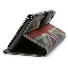 For Sony Xperia Z3V Wallet Case - Flip Pouch Credit Card Cover UK Flag Design
