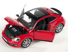 BLITZ VERSAND VW The New Beetle 2012 rot / red 1:24 Welly Modell Auto NEU & OVP