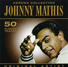 JOHNNY MATHIS - HEROES COLLECTION - 2 CDS - NEW!!
