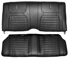 1968 Camaro Convertible Deluxe Interior Rear Seat Cover Upholstery  Black