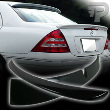 PAINTED For Mercedes BENZ W203 L TYPE ROOF & A STYLE TRUNK SPOILER 01-07