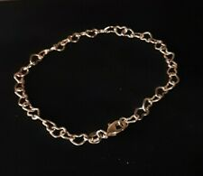 Anklet Heart Link Gold Filled/Plated Ghr