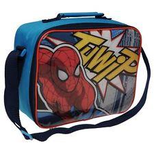 MARVEL Sac à gouter bleu & rouge lunch bag SPIDERMAN Neuf