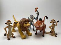 Vintage The Lion King Fighting Action Figure Disney Mattel