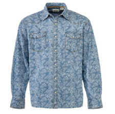 NEW RedHead Men's Ranch Collection Print Western Shirt Size Large
