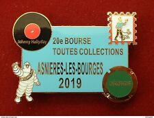 20éme BOURSE TOUTES COLLECTIONS - JOHNNY HALLYDAY - CHAMPAGNE -TINTIN -MICHELIN