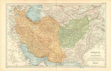 1901 ANTIQUE MAP - PERSIA AMD AFGHANISTAN
