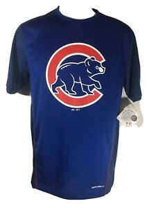 Chicago Cubs Blue T Shirt Mens size S, Small
