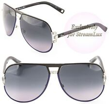 0c0b28afc01 CHRISTIAN DIOR GRAPHIX 2 XMCHD Women s Sunglasses Aviator Black Purple  Silver