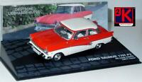 Ford Taunus 17M P2 Deluxe Coupe Red/White 1957-1959 - 1/43 Scale Die Cast Model