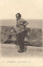 le tréport , type de pêcheur
