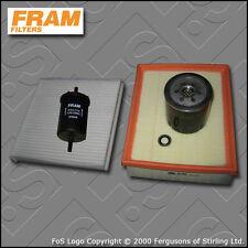 SERVICE KIT RENAULT LAGUNA II 3.0 V6 FRAM OIL AIR FUEL CABIN FILTER (2001-2007)