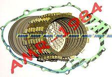 DISCHI FRIZIONE COMPLETI + GUARNIZIONE HONDA CR125  dal 1986 al 1999