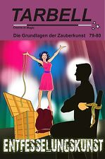 """Tarbell Course in Magic """"Entfesselungskunst"""" Fluchtkiste & mehr Zauberbuch 81088"""