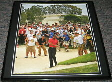 Tiger Woods 2008 US Open Sunday Red Framed 12x12 Poster Photo