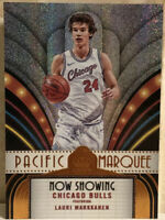 2017-18 Panini Crown Royale Pacific Marquee #PM-22 Lauri Markkanen RC Rookie