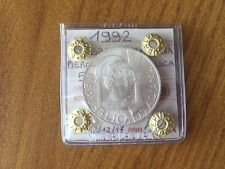 MONETA REPUBBLICA ITALIANA 500 LIRE PIERO DELLA FRANCESCA 1992 FDC SUBALPINA