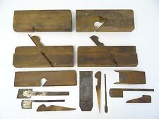 Antique Lot Carpentry Ift Fisher 134 JCH Cote Cast Steel Molding Planes Planers