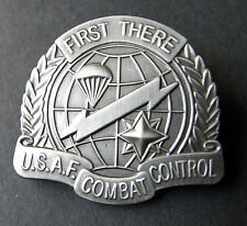 USAF Air Force Combat Control Large Cap Hat Jacket Pin 1.5 inches