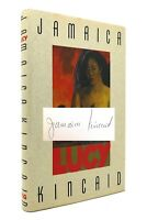 Jamaica Kincaid LUCY Signed 1st 1st Edition 1st Printing