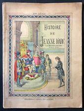 Jeanne d'Arc la bienheureuse 18 avril 1909 / Pellerin Imagerie  d'Epinal