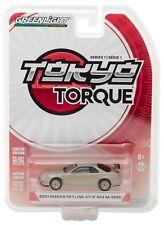 1:64 GreenLight *Tokyo Torque Japan* Gold 2001 Nissan Skyline Gt-R R34 M-Spec