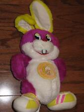 VINTAGE 80s PLUM BERRY JELLYBEAN GANG RABBIT DOLL PLUSH TOY 1984 SPEARHEAD 14.5""