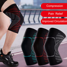 Knee Sleeve Compression Brace Pads Support for Sport Joint Pain Arthritis Relief