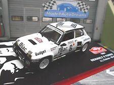 RENAULT 5 Turbo Rallye Monte Carlo 1984 #6 Therier Diac Sodicam IXO Altaya 1:43