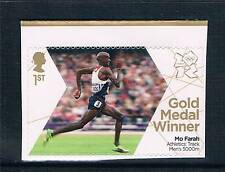 GB 2012 OLYMPIC GOLD MEDAL ATHLETICS 5000m MO FARAH 1V S/ADH