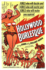 "Hollywood Burlesque Movie Poster  Replica 13x19"" Photo Print"