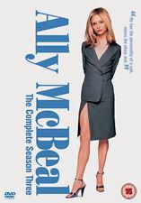 ALLY MCBEAL COMPLETE SERIES 3 - DVD - REGION 2 UK