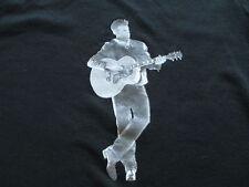 Roch Voisine Women Guitar Black White T Shirt S Small M Medium