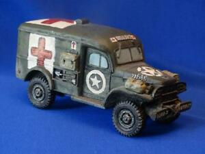 COCG-031 US Dodge Ambulance - WC-54 - King and Country - WWII - 60mm Polystone