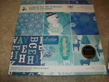 MOMENTA SCRAPBOOK CRAFT PAD PAPERS DIECUT SHAPES + CARDSTOCK WINTER 12 x 12