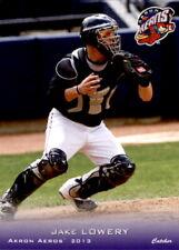 2013 Akron Aeros Grandstand #14 Jake Lowery Midlothian Virginia VA Baseball Card