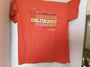Kansas City Chiefs 2020 Parade Delivered I WAS THERE T- SHIRTS SHORT SLEEVE