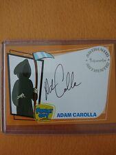 family guy trading card series 2 autograph A8 Adam Carola Death