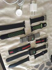 (2) Apple Watch 42mm Stainless Steel W/ Milanese Loop & Apple Watch 7000 Sport