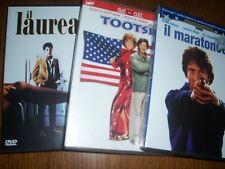 LOTTO 15 DVD DUSTIN HOFFMAN IL LAUREATO IL MARATONETA TOOTSIE RAIN MAN HOOK...