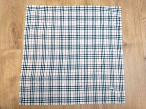 Burberry Bandana Pocket Square Mini Scarf Handkerchief Neckerchief Nova Check A