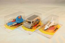 Corgi Toys 3 models Superman Supermobile en Space shuttle mint in blister
