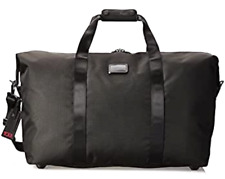 Tumi Alpha Large Soft Travel Satchel Duffel Bag Ballistic Nylon 22153 Black $345