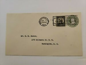 US FDC 1923  #559  Mckinley On Entire