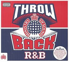Ministry of Sound - Throwback R&B | 3 Disc CD Box Set Album | New